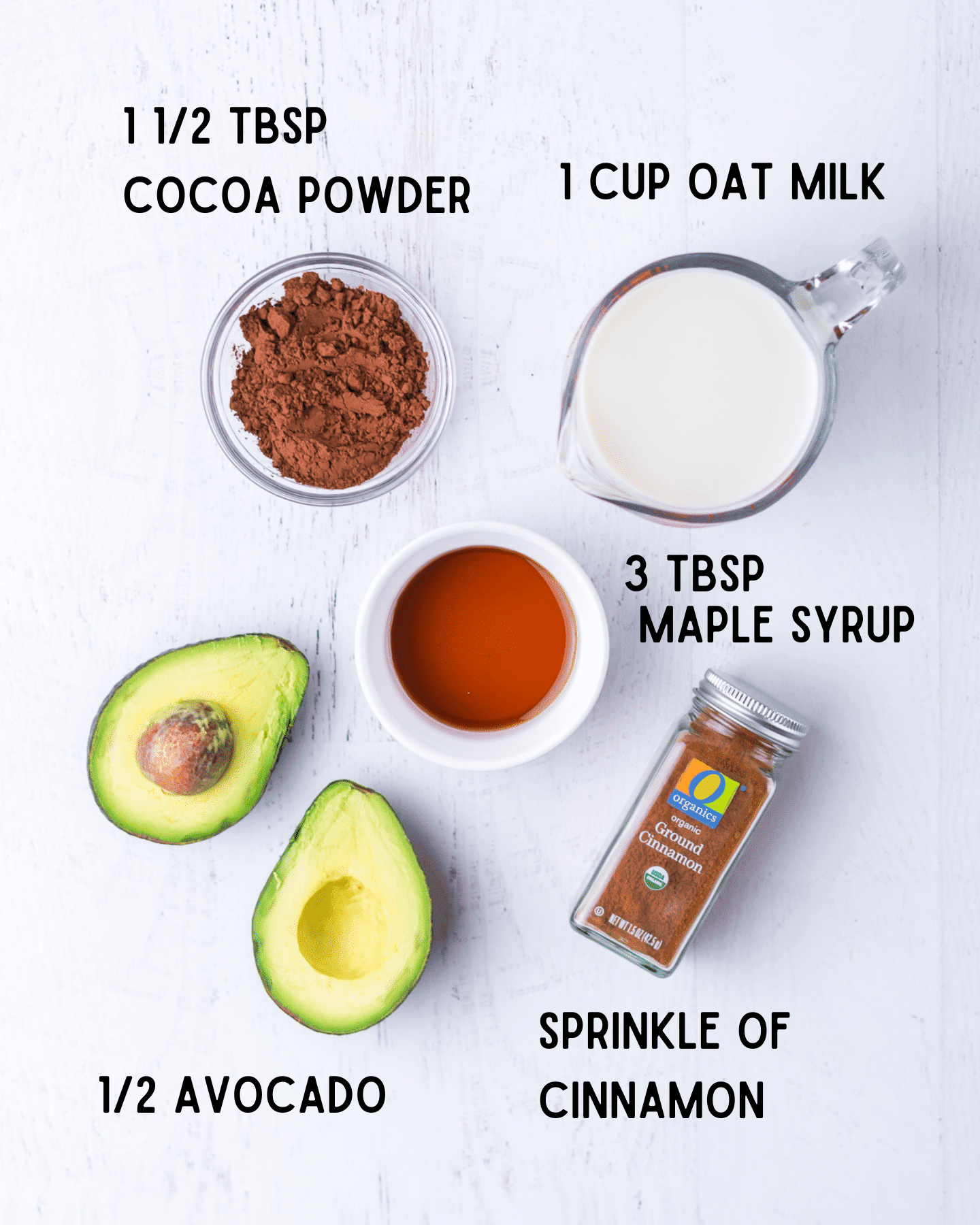 avocado hot chocolate ingredients
