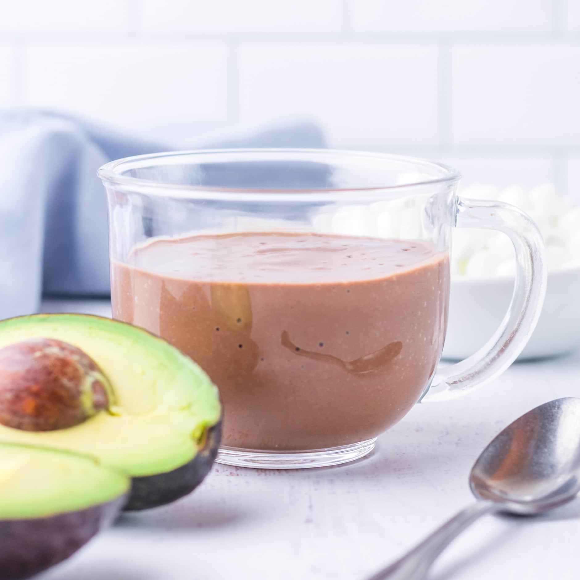 avocado hot chocolate