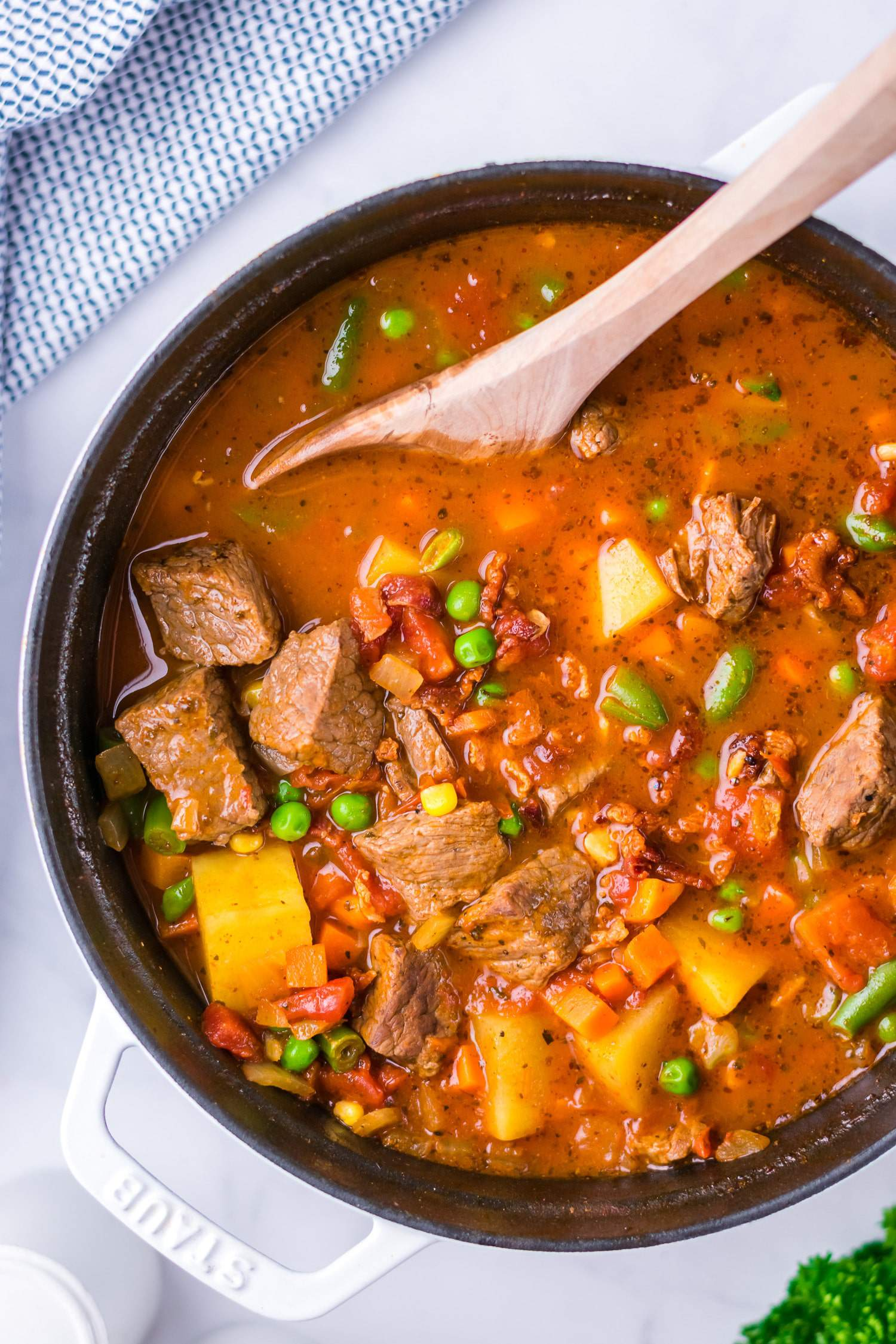 easy beef and vegetable soup