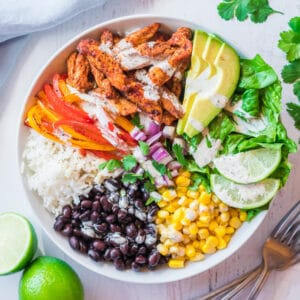 chicken burrito bowl