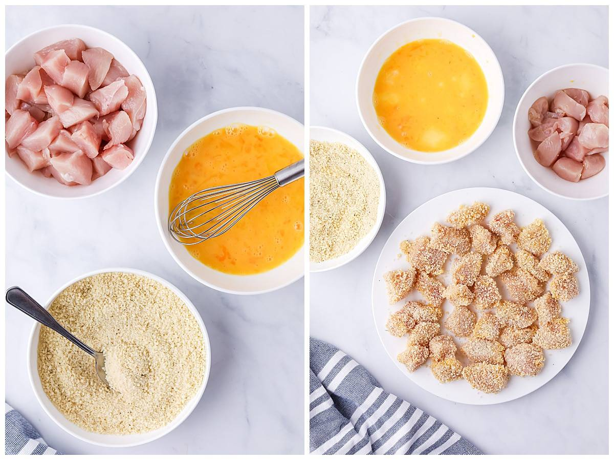 how to make homemade chicken nuggets