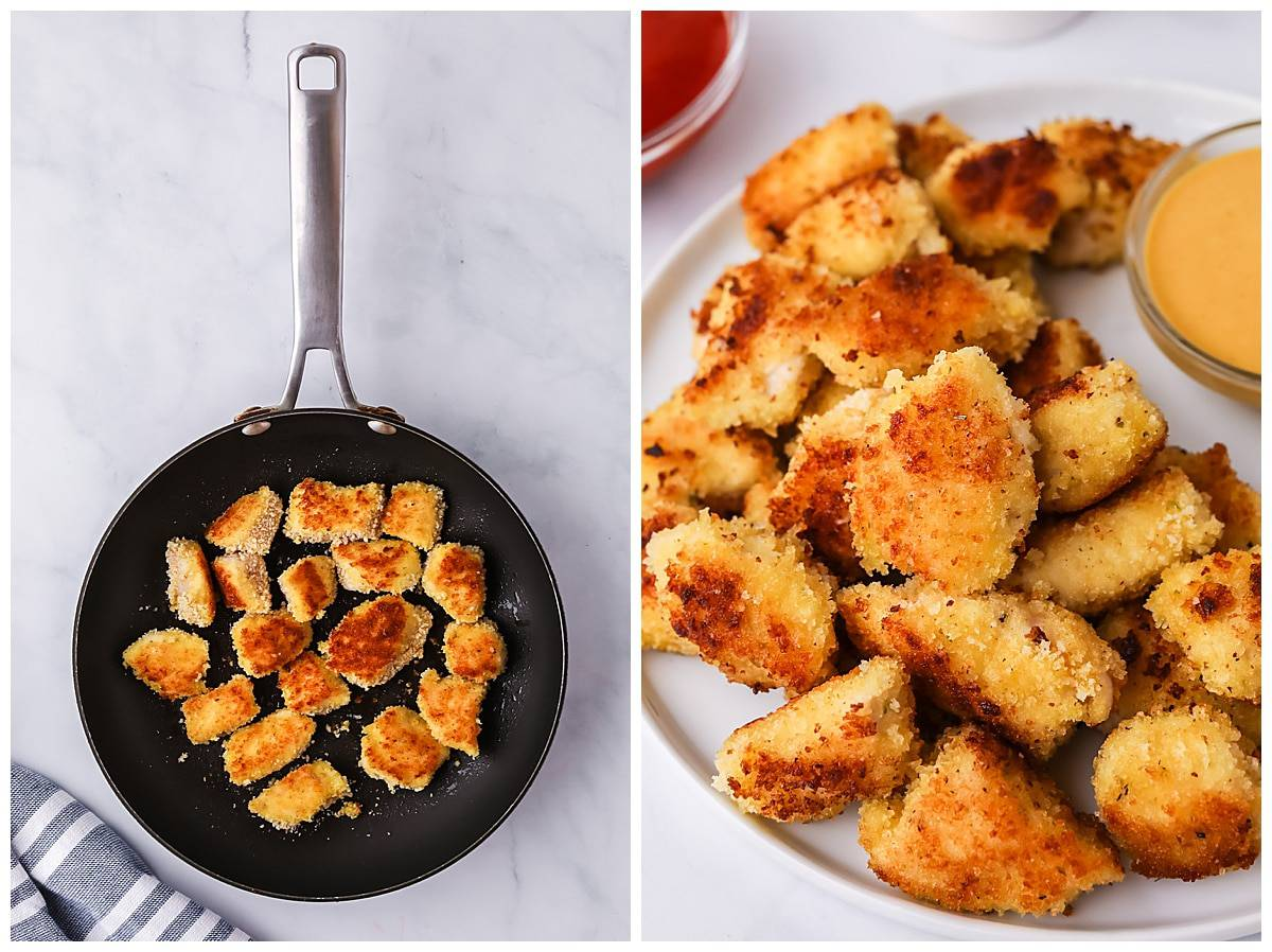 how to cook homemade chicken nuggets