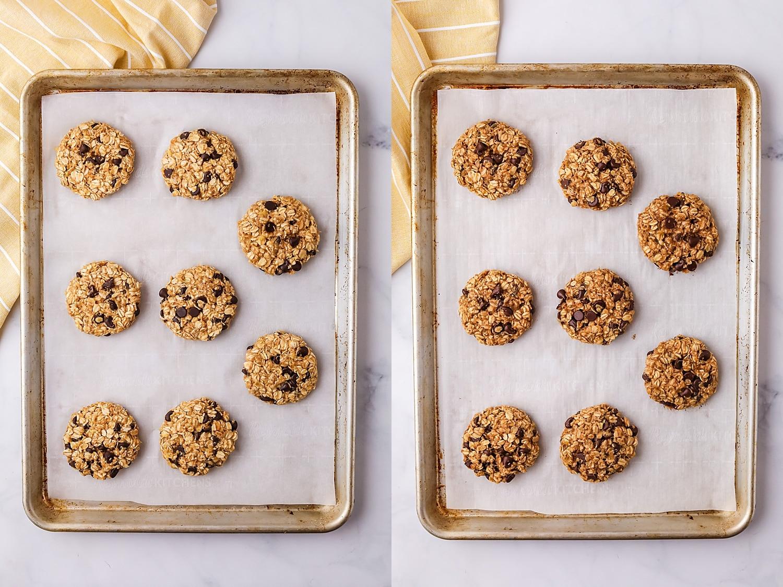 baking breakfast cookies