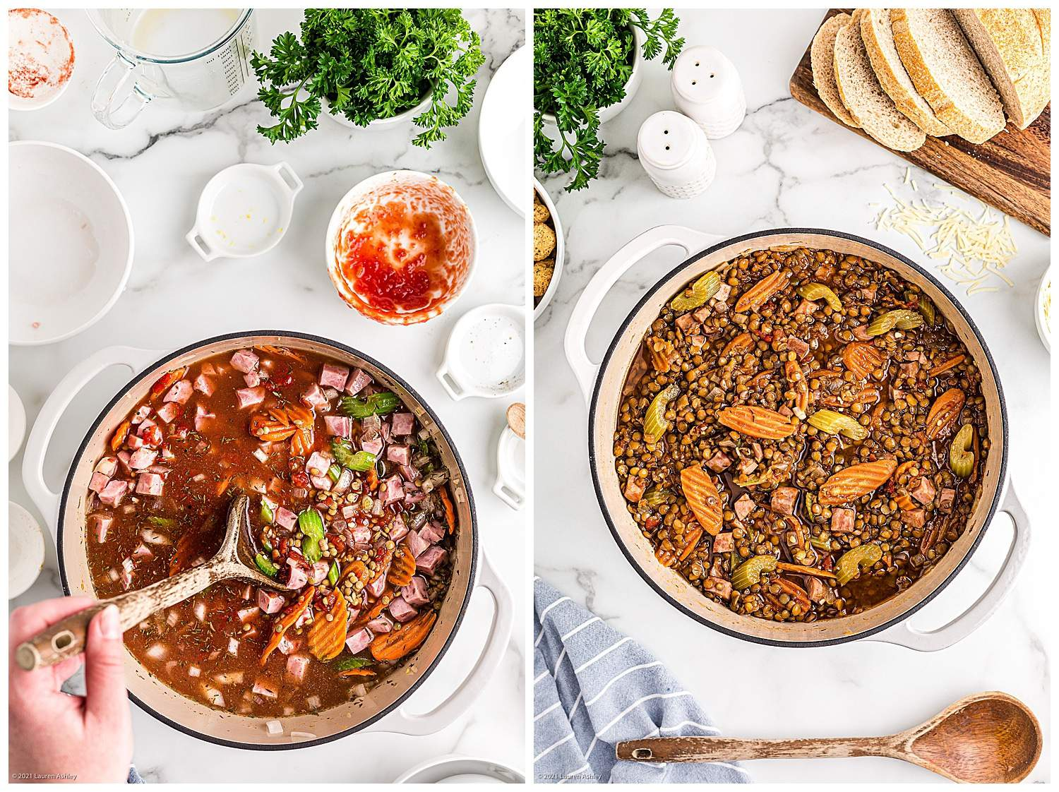 how to cook lentil stew